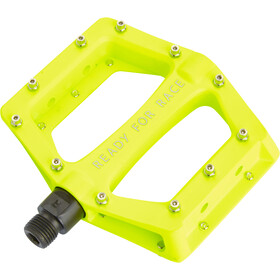Cube RFR CMPT Flat Pedaler, neon yellow